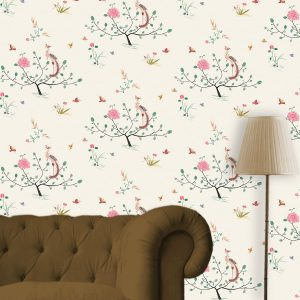 Peranakan design wallpaper