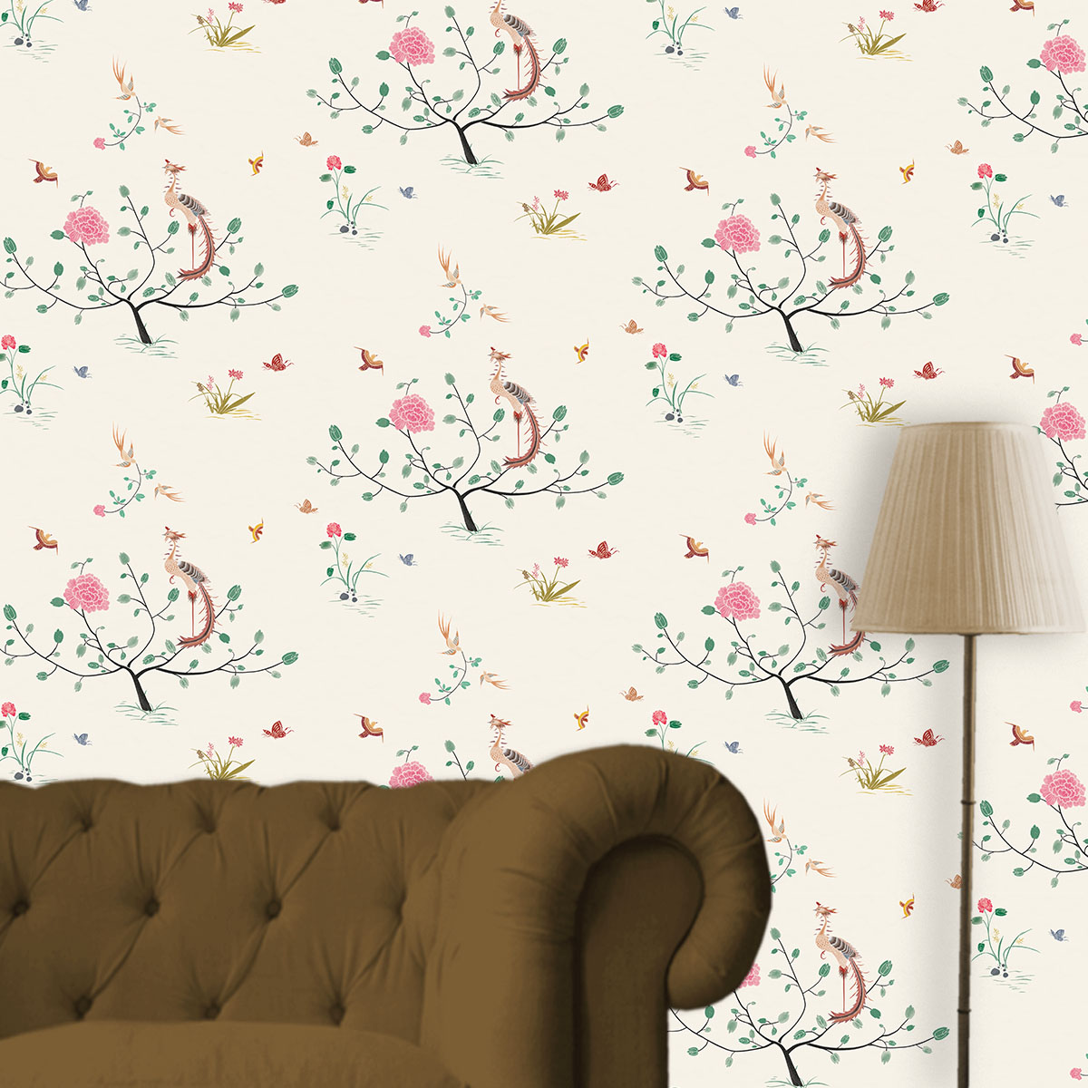 Peranakan design wallpaper