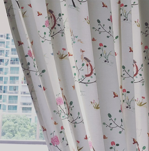 Singaore Curtain Fabric 2
