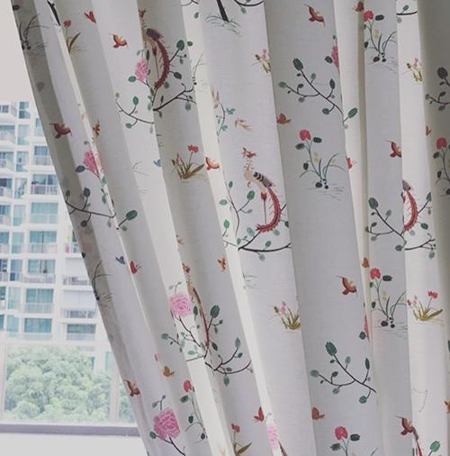 Singaore Curtain Fabric 2